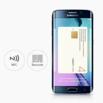 Podpora NFC a čárových kódů