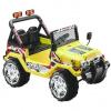 HECHT dětské akumulátorové auto 2 motory 2*6V 2*45W, 10Ah, 3,2-6,8 km/h, zatížení 30kg 56188