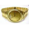 b45baf184 Luxusní elegantní pánské zlaté švýcarské hodinky 585/77,70gr GENEVE 3ATM  T153
