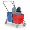 Kovový úklidový vozík - DOPRAVA ZDARMA