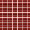 Ceramika Paradyz Uniwersalna mozaika szklana karmazyn - obkládačka mozaika 29,8x29,8 červená 123203 Reflection