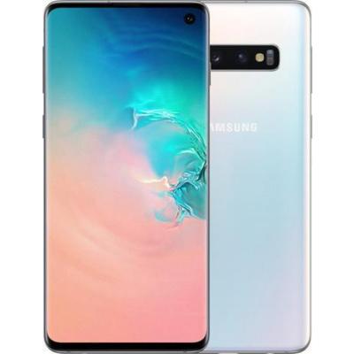 Samsung Galaxy S10 (SM-G973F) 128GB, White - SM-G973FZWDXEZ