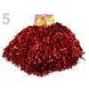 Pompon pro roztleskávačky 2 ks 4pár - 51 Kč / pár 5 červená jahoda