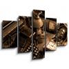 Obraz pětidílný 5D - 150 x 100 cm - Vintage still-life, obraz pětidílný 5D, obraz 5D, pětidílný obraz, 5d obraz - DOPRAVA ZDARMA