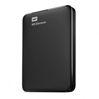 Western Digital WD Elements Portable 2.5'' externí HDD 1TB, USB 3.0, černý WDBUZG0010BBK-WESN