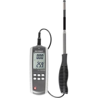 Tyčový anemometr s teploměrem PL-135HAN, 0,1 - 25,0 m/s, USB CONRAD ELECTRONIC ČESKá REPUBLIKA, S.R.O.