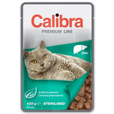 Calibra Cat kapsa Premium Sterilised Liver 100g, Velikost balení 100g