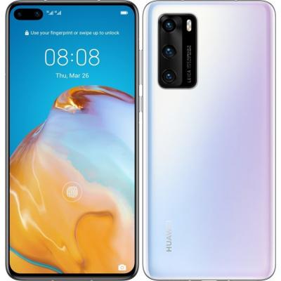 Mobilní telefon Huawei P40 (HMS) 5G - bílý