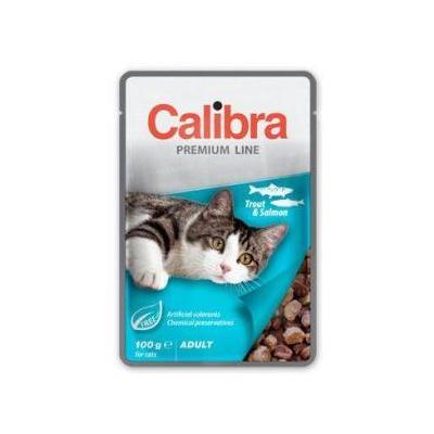 Calibra Cat kapsa Premium Adult Trout & Salmon 100g