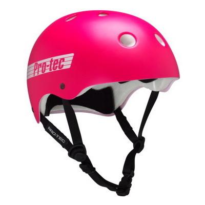Pro Tec CLASSIC SK8/BIKE SATIN PINK RETR skate helma - L