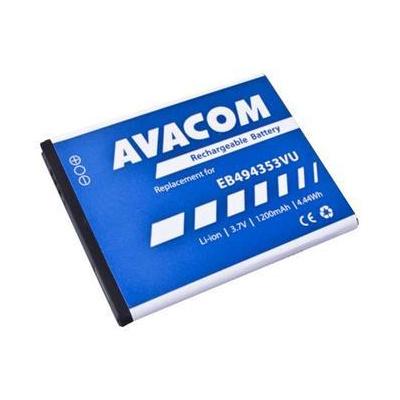 Náhradní baterie AVACOM Baterie do mobilu Samsung 5570 Galaxy mini Li-Ion 3,7V 1200mAh (náhrada EB494353VU) - GSSA-5570-S1200A