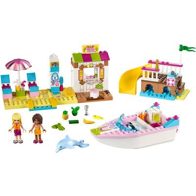 LEGO Juniors - Andrea a Stephanie na dovolené na pláži 10747