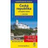 Automapa Česká republika a krajská města 1 : 500 000