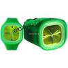 479ba0b74 GNT Moderní silikonové hodinky JELLY zelené