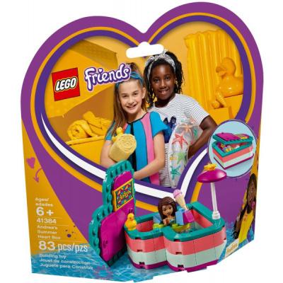 LEGO Friends 41384 Andrea a letní krabička ve tvaru srdce (LegoAndrea's Summer Heart Box)