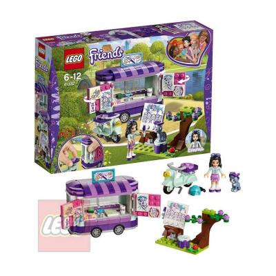 LEGO FRIENDS Emma a umělecký stojan STAVEBNICE 41332