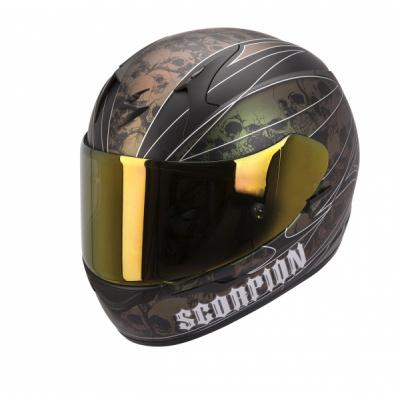 Moto přilba SCORPION EXO-410 AIR UNDERWORLD černý chameleon XXL