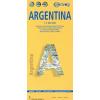 Argentina 1:3,8m mapa Borch