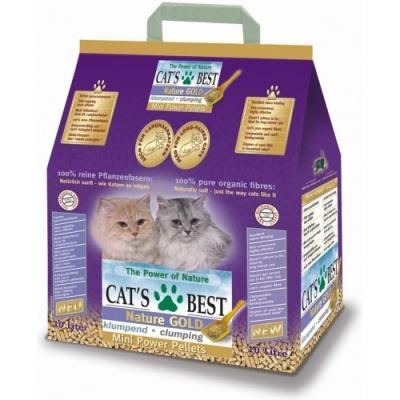 Cat's Best Nature Gold 10l (Hrudkující kočkolit, který neulpívá na srsti koček)