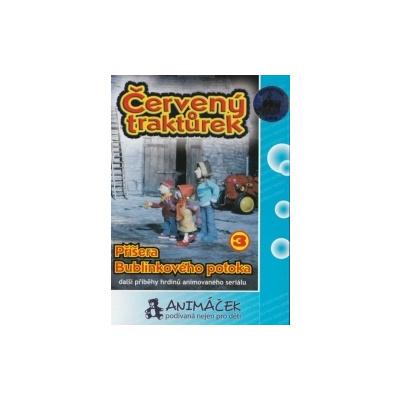 Červený traktůrek 3 - Příšera Bublinkového potoka, DVD