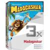 Film/Kolekce & dárkové balení - Madagaskar 1-3 (DVD)
