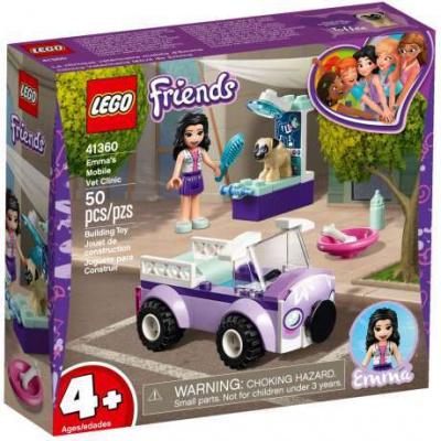 LEGO 41360 Friends - Emma a mobilní veterinární klinika