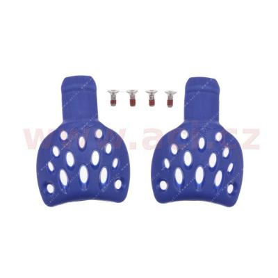 Slidery paty pro boty SUPERTECH R, ALPINESTARS - Itálie (modré, pár, vel. 45/47)