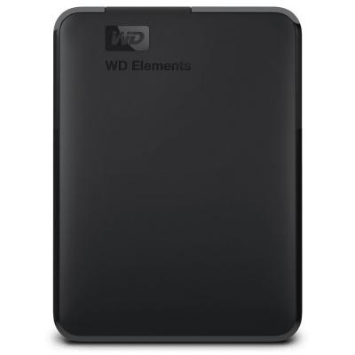 """Pevný disk WD Elements Portable 1TB Pevný disk, externí, 1TB, 2,5"""", USB 3.0, černý WDBUZG0010BBK-WESN"""