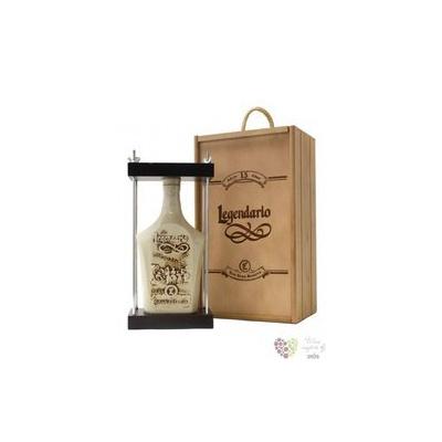 """Legendario """" Grand Reserva """" aged 15 years ceramic decanter Cuban rum 40% vol. 0.70 l"""