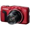 Digitální fotoaparát Canon PowerShot SX700 HS red Digitální fotoaparát, 16 Mpix, 30 x zoom, 3 LCD, FULL HD video, GPS, Wi-Fi, Stabilizace, Červený 9339B011AA