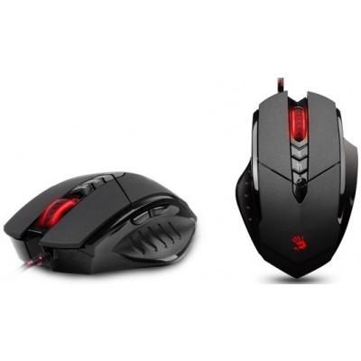 A4tech BLOODY V7 Core2 s kovovýma nožičkama, herní myš, až 3200DPI, HoleLess technologie, 160KB pamě - V7M