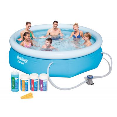 Bestway 57268CH Bazén Fast Set 2,44 x 0,66 m s bazénovou chemií