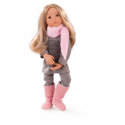 Götz panenka Emily (9-kloubová stojící panenka, 50cm vysoká, blond vlasy a hnědé oči, z kolekce HAPPY KIDZ )