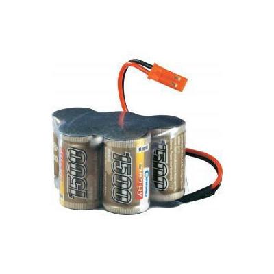 Conrad energy Akupack přijímače NiMH LRP Electronic 2/3 A, 6 V, , Hump, JR 1500 mAh - originální