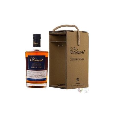 """Clément agricole tres vieux """" Single Cask Moka Intense """" 2014 Martinique rum 41.9% vol. 0.5 l"""