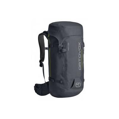 Ortovox PEAK 40 DRY black steel Černá batoh