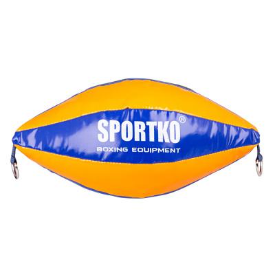 Boxovací pytel SportKO GP2, oranžovo-modrá