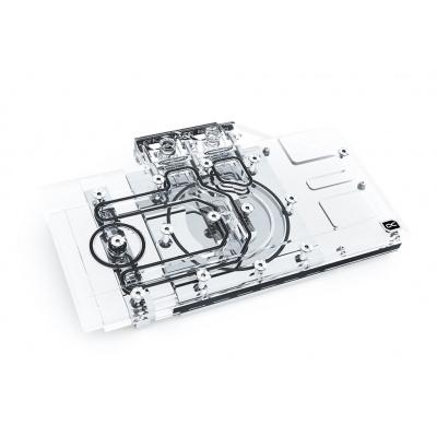 Alphacool Eisblock Aurora Plexi GPX-N RTX 3070 MSI Ventus + Backplate 11947