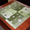 Teflonový ubrus: tisk - kytka zelená