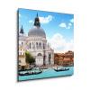 WEBLUX svítící LED Obraz 43614176 - Grand Canal and Basilica Santa Maria della Salute, Venice, Italy