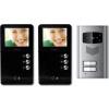 Dveřní videotelefon Moveto 2V-035 pro 2 byt. Jednotky