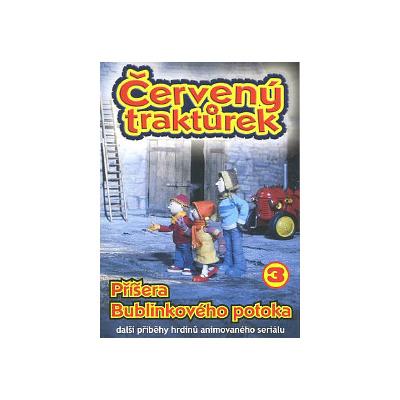 Červený traktůrek DVD 3 - Příšera Bublinkového potoka