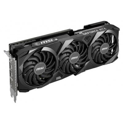 MSI GeForce RTX 3070 VENTUS 2X OC Grafická karta, PCI-E, 8GB GDDR6, 3x DisplayPort, 1x HDMI, aktivní RTX 3070 VENTUS 2X OC