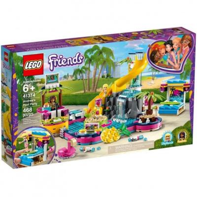 LEGO 41374 Friends - Andrea a párty u bazénu