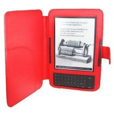 Amazon Kindle 3 Keyboard - FORTRESS FT122 - červené + BONUSY