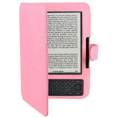Amazon Kindle 3 Keyboard - FORTRESS FT126 - růžové + BONUSY