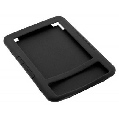 Durable Lock Mosso Sil-88 - Silikonové pouzdro pro Amazon Kindle 3 Keyboard - černé + BONUSY