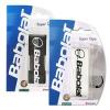 Tenisové doplňky k raketě Babolat SUPER TAPE X5 Barva: Bílá