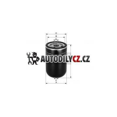 MF WK929 - Filtr palivový MANN