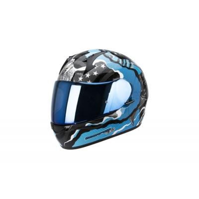 Moto přilba SCORPION EXO-410 AIR WILD modrá XL